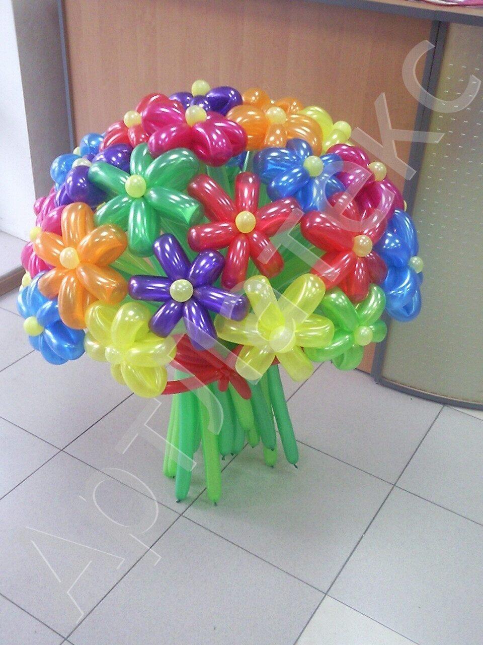 Цветы из шаров купить в иркутске заказать букет роз с доставкой по украине