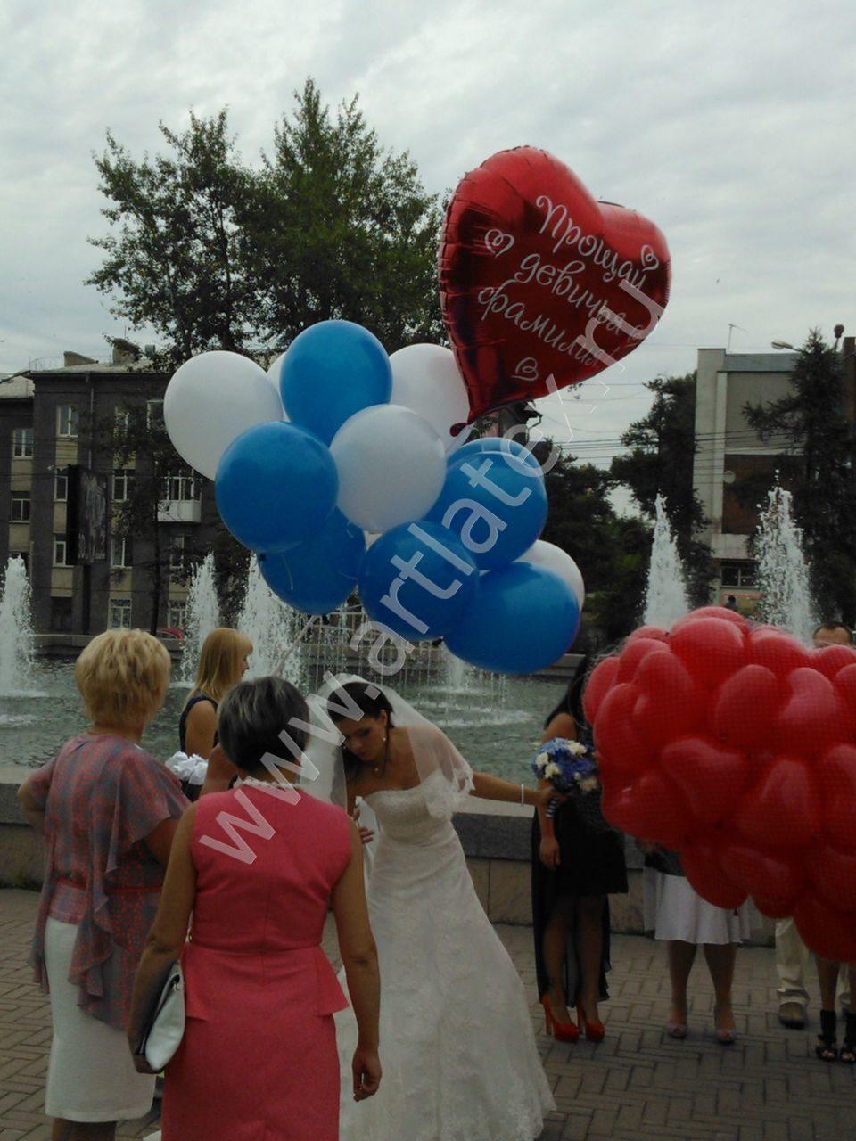 Свадьба на воздушном шаре - Полет на воздушном шаре Киев