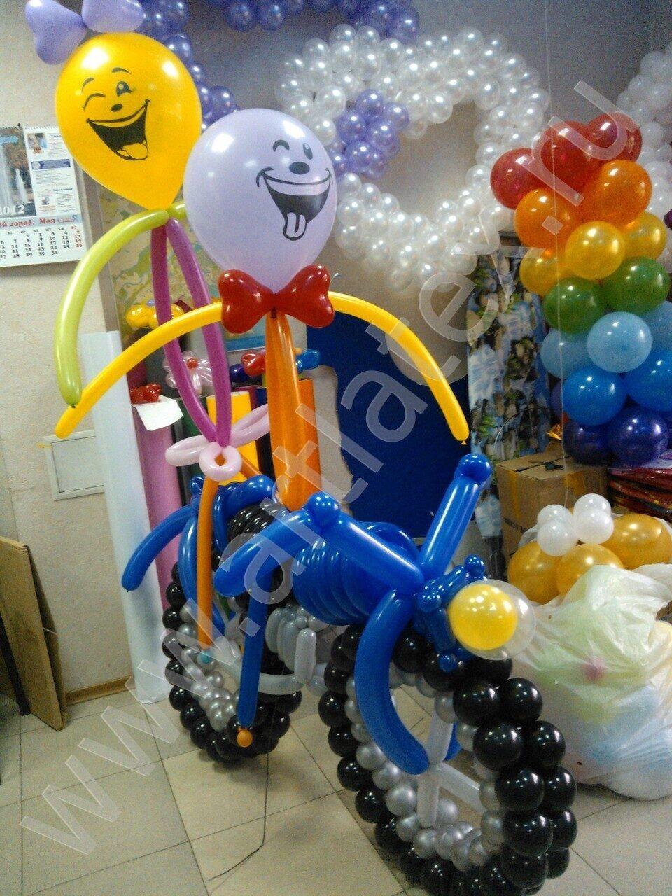 С днем рождения из шариков фото